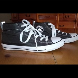 Converse Mid-top Charcoal Gray Size 9